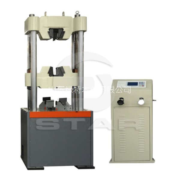 WE-1000D数显式液压万能试验机_万能材料试验机