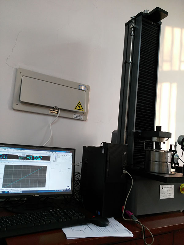 天津核工业理化研究所波纹管弯曲刚度测试仪